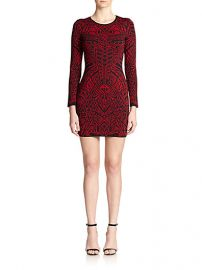 RVN - Mehndi Jacquard Sheath at Saks Fifth Avenue