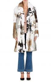 Rabbit Fur Coat by Co at Barneys