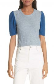 Rachel Comey Contrast Sleeve Sweater at Nordstrom
