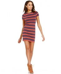 Rachel Roy Striped Dress at Macys