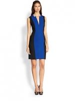 Rachel Roy colorblock dress at Saks Fifth Avenue