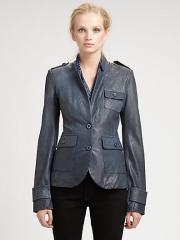 Rachel Zoe - Finn Leather Jacket at Saks Fifth Avenue