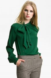 Rachel Zoe  Maryna  Side Placket Blouse at Nordstrom