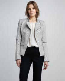Rachel Zoe Carine Dot Blazer at Bergdorf Goodman