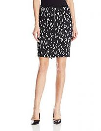 Rachel Zoe Women s Ward Animal Ikat Pencil Skirt at Amazon