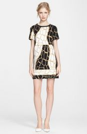 Rachel Zoe and39Landonand39 Giraffe Print Dress at Nordstrom