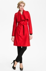 Rachel's red coat by Ted Baker at Nordstrom