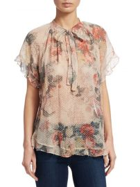 Radiate Cascade Floral Top Zimmermann at Saks Fifth Avenue