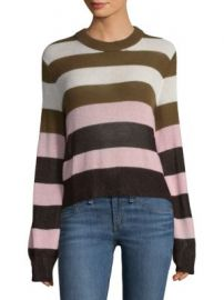 Rag   Bone - Annika Striped Lurex Blend Sweater at Saks Fifth Avenue