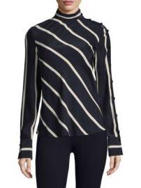 Rag   Bone - Bretton Striped Silk Top at Saks Fifth Avenue