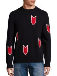 Rag   Bone - Jackson Crew Wool Sweater at Saks Fifth Avenue