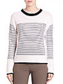 Rag   Bone - Masie Striped Crewneck Sweater at Saks Off 5th
