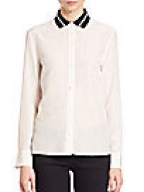 Rag   Bone - Nico Silk Blouse at Saks Fifth Avenue