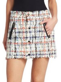 Rag   Bone - Otis Tweed Mini Skirt at Saks Fifth Avenue