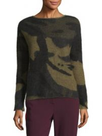 Rag   Bone - Sinclair Camo Sweater at Saks Fifth Avenue