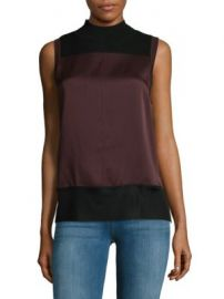 Rag   Bone - Vivienne Mockneck Top at Saks Off 5th