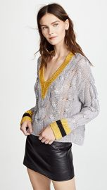 Rag  amp  Bone Emma V Neck Sweater at Shopbop