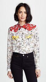 Rag  amp  Bone Floral Jasper Shirt at Shopbop