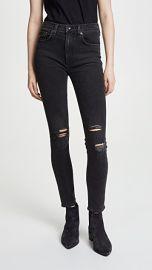 Rag  amp  Bone JEAN High Rise Ankle Skinny Jeans at Shopbop