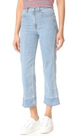 Rag  amp  Bone JEAN Lou Crop Jeans at Shopbop