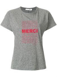 Rag  amp  Bone Merci Print T-shirt  118 - Shop SS18 Online - Fast Delivery  Price at Farfetch