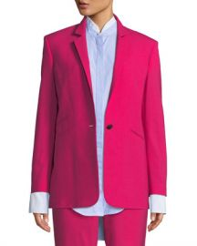 Rag  amp  Bone Ridley Notched-Lapel Blazer Jacket at Neiman Marcus