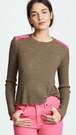 Rag  amp  Bone Rowan Crew Sweater at Shopbop
