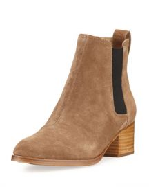 Rag  amp  Bone Walker Suede Chelsea Boot at Neiman Marcus