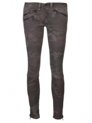 Rag and Bone Ankle Zip Skinny Trouser - American Rag at Farfetch