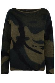 Rag and Bone Camo Sweater at The Outnet