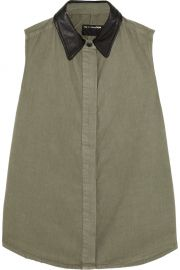 Rag and Bone Cotton Twill Shirt at The Outnet