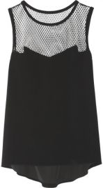 Rag and Bone Franklin Mesh Top at Net A Porter