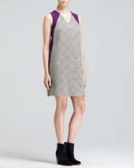 Rag and Bone Solo Two-Tone Printed Oversized Dress at Neiman Marcus