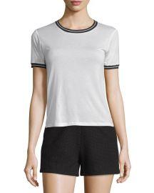 Rag and Bone Stevie Tee in Blanc at Neiman Marcus