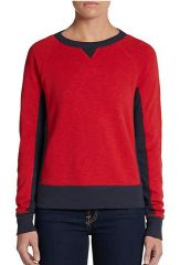 Rag and Bone Two Tone Sweatshirt at Saks Off 5th