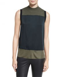 Rag and Bone Vivienne Paneled Colorblock Tank at Neiman Marcus