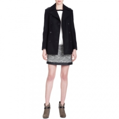 Rag andamp Bone Battle Peacoat at Barneys