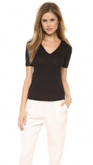 Rag andamp Bone Genesis V Neck Tee at Shopbop