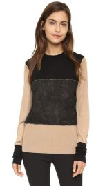 Rag andamp Bone Marissa Crew Sweater at Shopbop