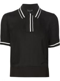 Rag andamp Bone and39danaand39 Polo Shirt - Excelsior Milano at Farfetch