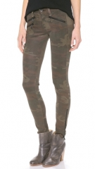 Rag andamp BoneJEAN RBW 23 Leather Camo Pants at Shopbop