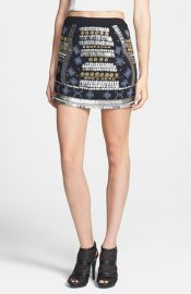 Raga Beaded Miniskirt at Nordstrom