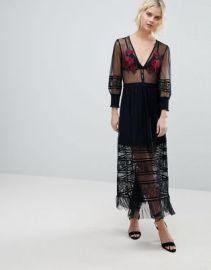 Rahi Cali Scarlett Embroidered Midi Dress at asos com at Asos