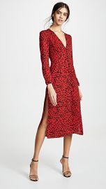 Rahi Red Leopard Scarlett Dress at Shopbop