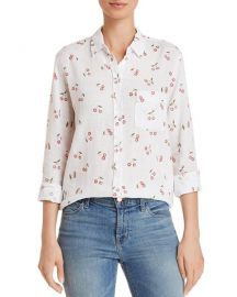 Rails Charli Cherry Print Shirt at Bloomingdales