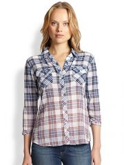 Rails - Ashton Ombrand233 Plaid Button-Down Shirt at Saks Fifth Avenue