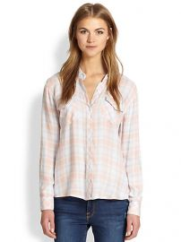 Rails - Carmen Plaid Button-Down Shirt at Saks Fifth Avenue