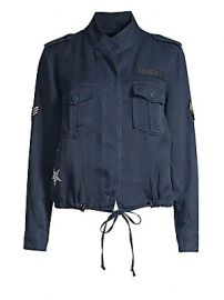 Rails - Grant Army Patch Jacket at Saks Fifth Avenue