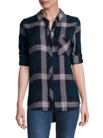 Rails - Hunter Plaid Blouse at Saks Fifth Avenue