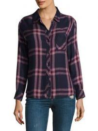 Rails - Hunter Plaid Button-Down Shirt at Saks Fifth Avenue